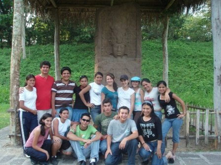 Visita del Colegio San Benito aQuiriguá