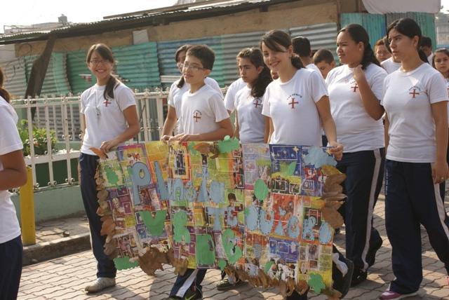 Colegio San Benito, en solidaridad con la Tierra en su Día