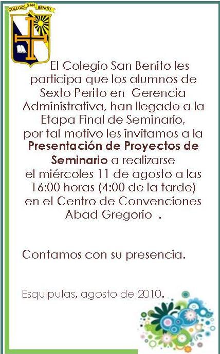 Nivel Diversificado   Colegio San Benito - Esquipulas   Página 36